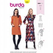 6381 Burda Pattern: Misses' Dresses
